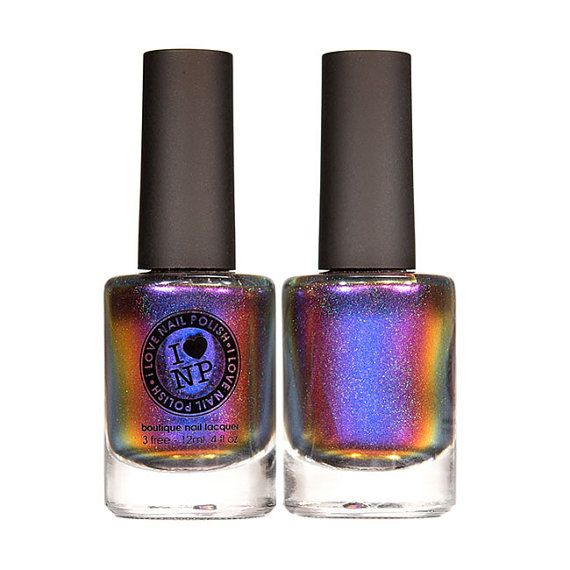 Cygnus Loop H  Holographic Multichrome Nail Polish by ILoveNP, $12.50