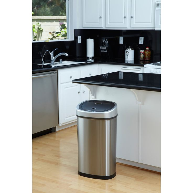 best 25 kitchen trash cans ideas on pinterest bathroom trash cans trash can cabinet and. Black Bedroom Furniture Sets. Home Design Ideas