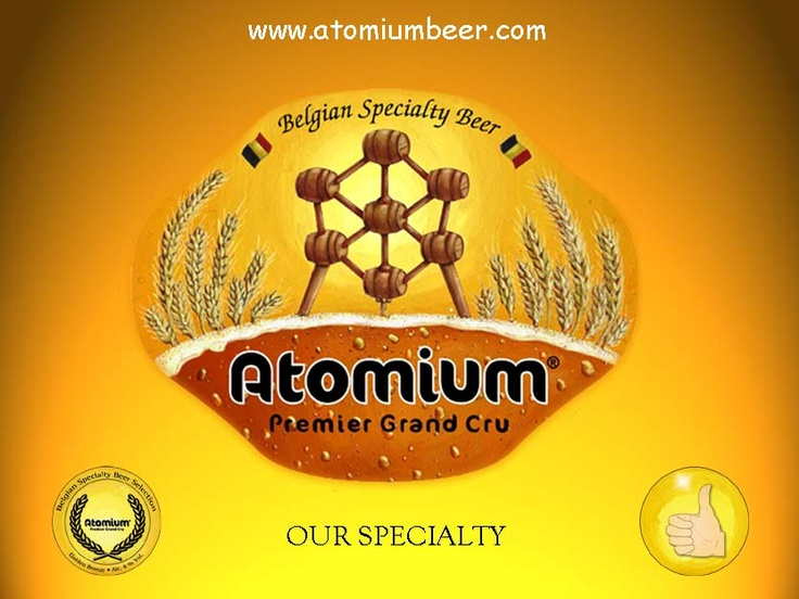 Atomium Premier Grand Cru is one of the only beers in the world brewed with 6 grains: barley, spelt, maize, wheat, buckwheat and rye.  My recent favorite, rich flavor, notes of honey and bread.