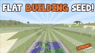 Minecraft Xboxps3 Tu31 Super Flat Land Building Seed Seed