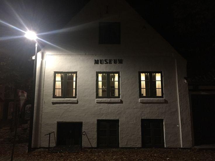 Aften ved Sæby Museum