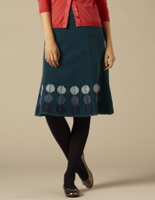 Circle Applique Skirt