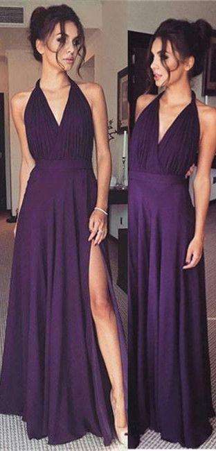 Sexy Purple Prom Dresses 2018