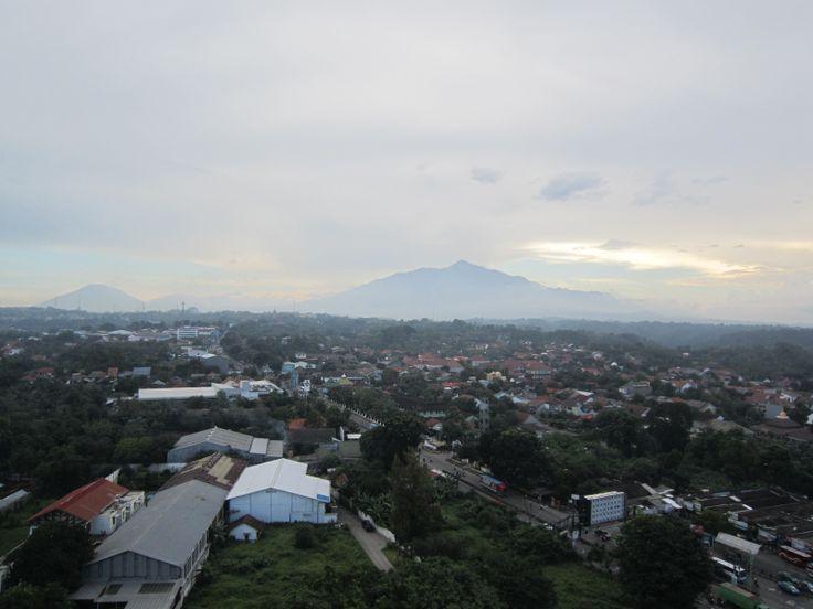 view at banyumanik semarang indonesia