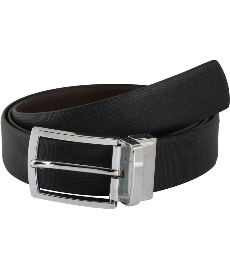 Vinson Massif Black And Brown Point Reversible Leather Belt