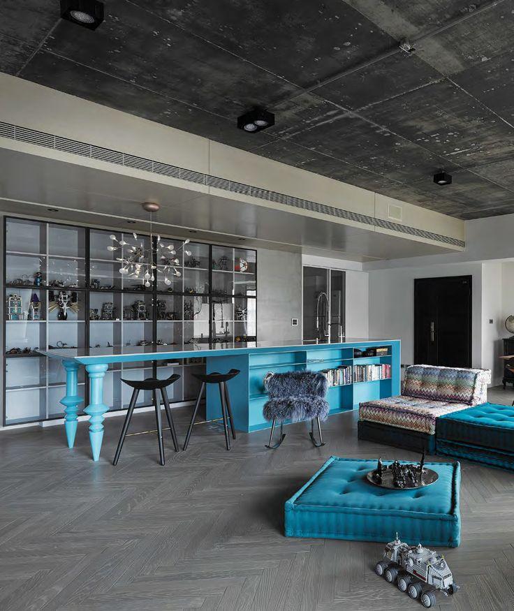Sencillez y sofisticación Con pocos pero muy bien pensados elementos, este apartamento logra una expresión armoniosa y muy personal entre arquitectura y diseño interior