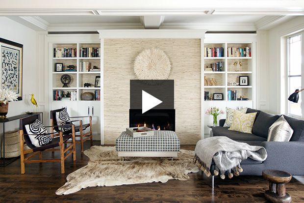 See how designer Emily Griffin transformed the dreary space.