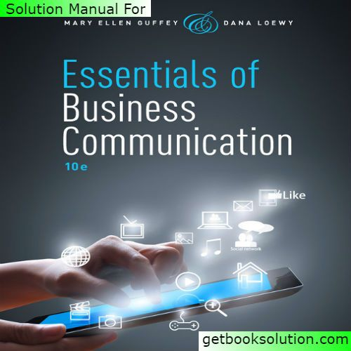 194 best solutions manual images on pinterest textbook manual read the description carefully essentials of business communication edition by mary guffey pdf ebook isbn 9781285858913 edition fandeluxe Image collections