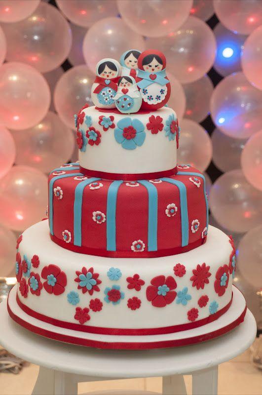 russian dolls cake