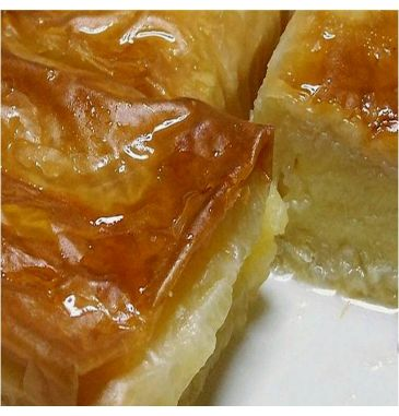Now #artisan #handmade #galaktoboureko the #Greek sweet and creamy custard #pastry in our fresh corner! Freshly made upon order in family pack serving 6!!   Available for delivery across the UK :)  http://agoragreekdelicacies.co.uk/online-shop/4570272291/Fresh-Corner