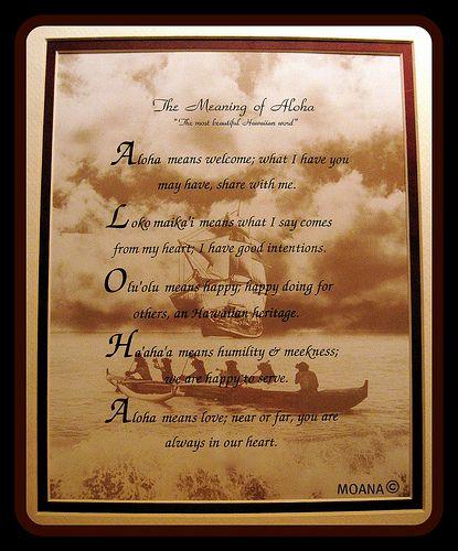 Aloha Spirit Meaning | Aloha Spirit Meaning Related Keywords & Suggestions ...