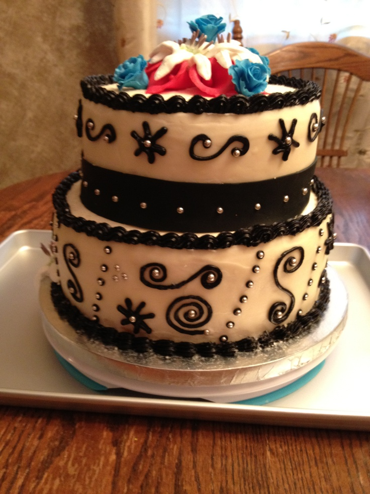Michaels Cake Decorating Class Sign Up : Western cake back #wiltoncontest Michaels, Amarillo, TX ...