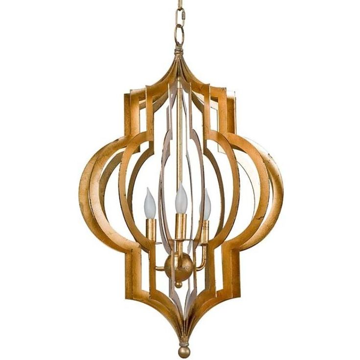 Superb Regina Andrew Pattern Makers Gold Chandelier Look For Less Good Ideas