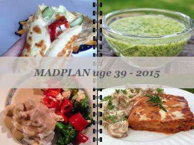 CDJetteDC's LCHF: Fabrinas tykke pandekage og LCHF MADPLAN uge 39 - 2015