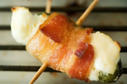 bacon wrapped jalapeno poppers  camille notes: recipes food cooking