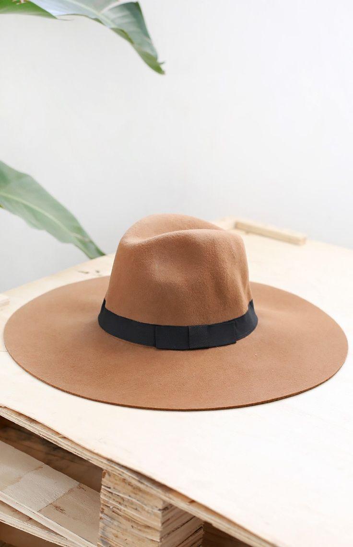 Canterbury Wide Brim Hat Tan Essential festival items! #BBFEST #beginningboutique