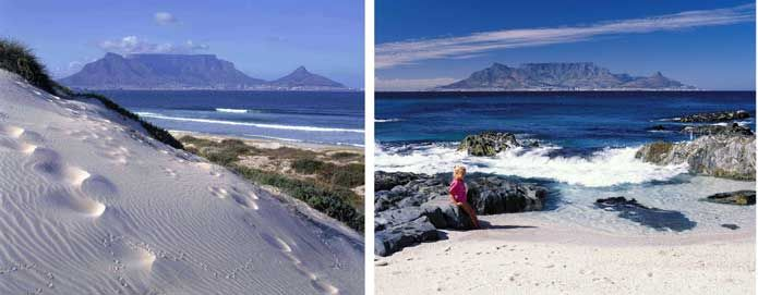 Bloubergstrand Beach, Table Bay, Cape Town