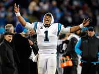 Cam Newton is the best player in the NFL today. Haters, you have two weeks to see the error of your ways. Adam Schein did -- and now he marvels at this Superman in Carolina Panthers garb.