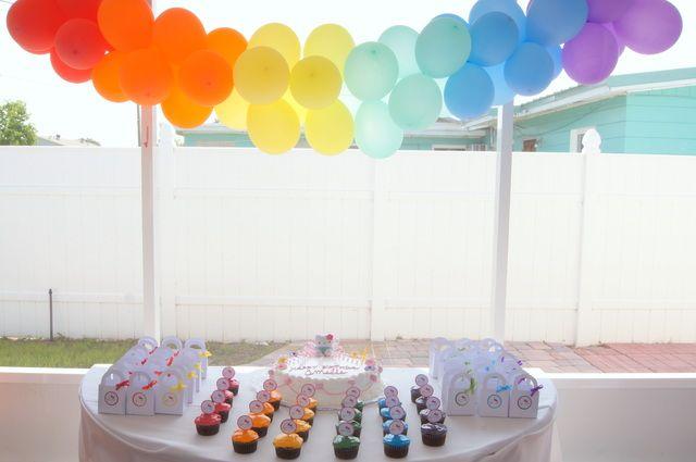 """Photo 1 of 6: Hello Kitty / Birthday """"Hello Kitty Rainbow Birthday Party""""   Catch My Party"""