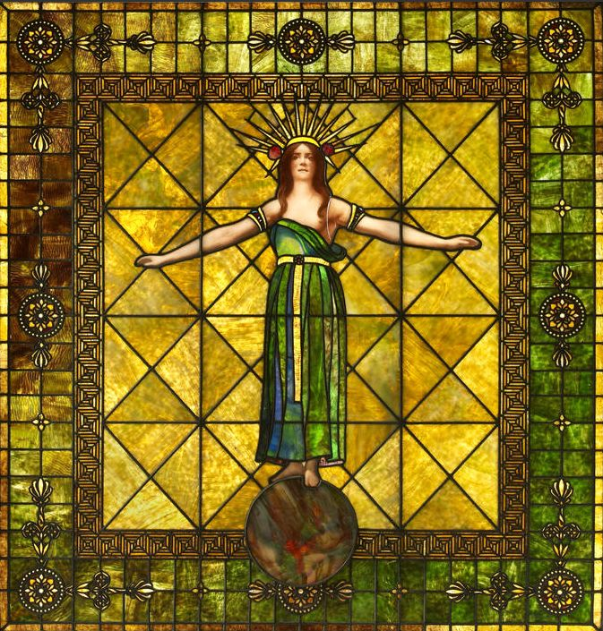 17 best images about antique stained glass on for 1900 stained glass window