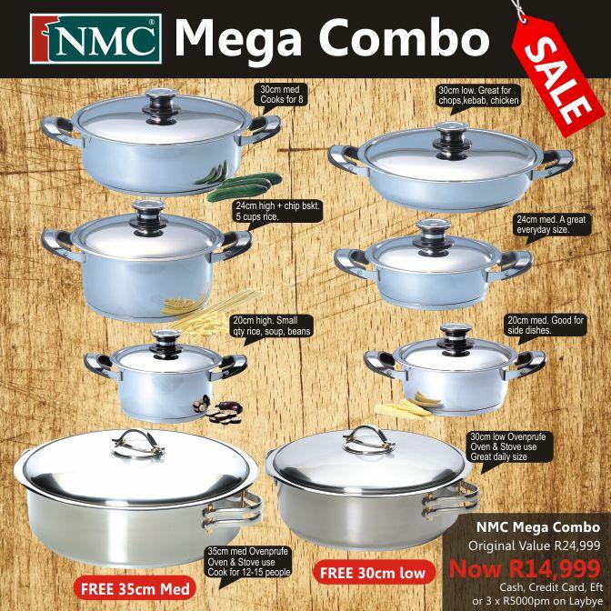 Cookware Sets : Mega Combo