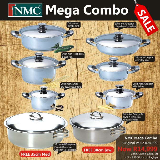 Cookware Sets : Mega Combo