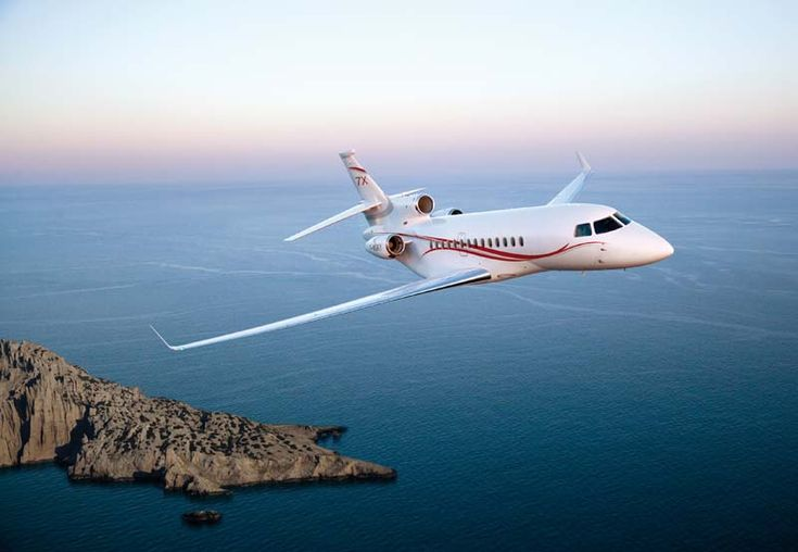 Something about airplanes in flight gives me a sense of freedom and aspiration  Falcon 7X - Dassault Aviation