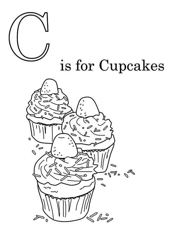 Printable Cupcake Coloring Pages Cupcake Coloring Pages Kids Printable Coloring Pages Birthday Coloring Pages