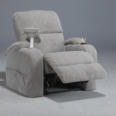 catnapper chiller recliner with built in ipad claw and cooled cup holder available http - Catnapper Recliners