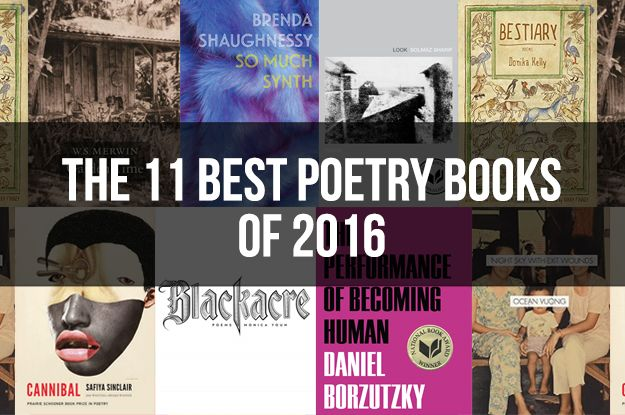 Here are the poetry collections that we absolutely loved in 2016. (Ranked in no particular order.)