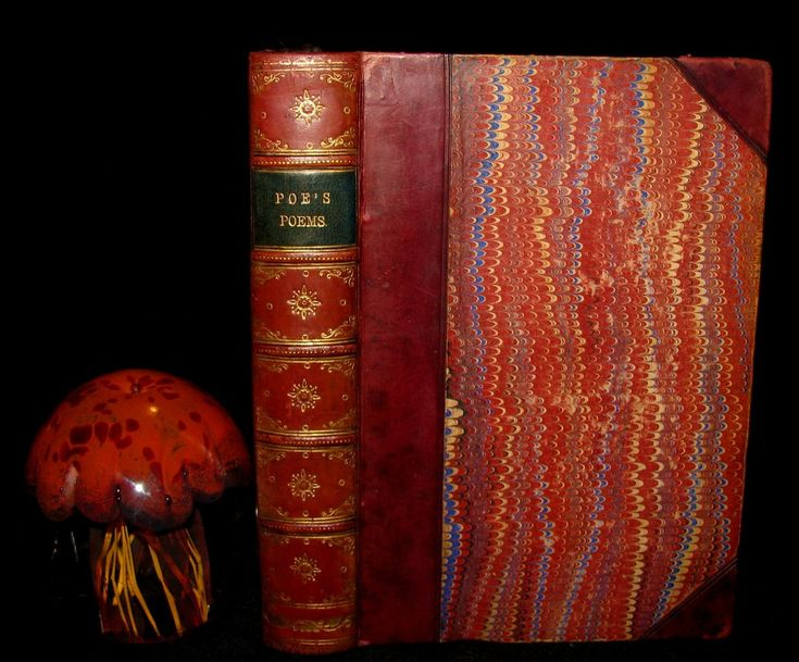 1880 Rare Book - The Poetical Works of Edgar Allan Poe together with h – MFLIBRA - Antique Books