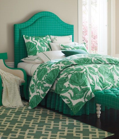 Emerald Green Bedding. So Lush And Beautiful. Emerald
