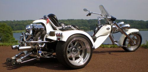 motorcycle trike picture of a 2007 rewaco custom harley. Black Bedroom Furniture Sets. Home Design Ideas