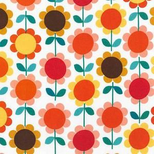 Ann Kelle - Laguna Jersey Prints - Daisies in Vintage