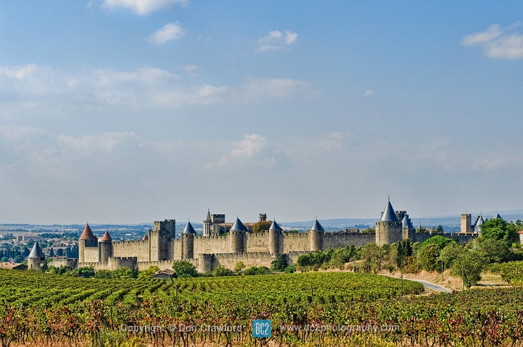 Carcassonne is a fortified French town. Fortification consists of a double ring of ramparts and 53 towers...The fortress, was thoroughly restored in 1853 by architect Eugène Viollet-le-Duc, was added to the UNESCO list of World Heritage Sites in 1997.