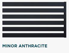 #Ogrodzenie #FENZ system #MINOR kolor #Anthracite