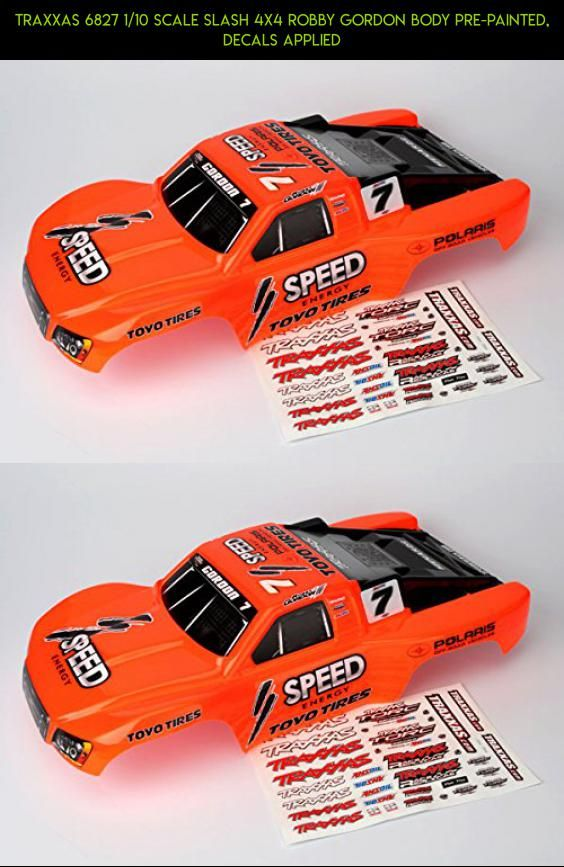 Traxxas 6827 1/10 Scale Slash 4X4 Robby Gordon Body Pre-Painted, Decals Applied #slash #parts #tech #body #camera #drone #shopping #racing #gadgets #kit #plans #products #technology #traxxas #fpv