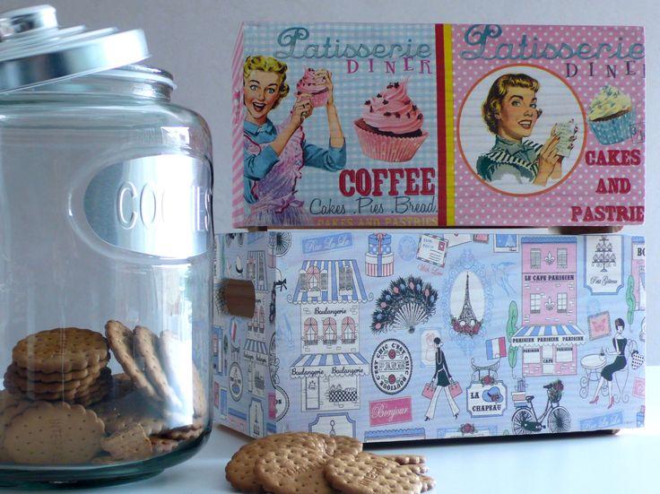 17 best images about cajas maderas decoradas on pinterest - Manualidades con cajas de madera ...