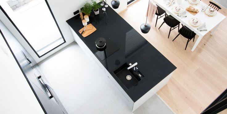 Asuntomessut 2016 A la Carte -keittiöt. Keittiömaailman Suola ja Pippuri #asuntomessut2016 #keittiömaailma #keittiö #alacartekeittiöt