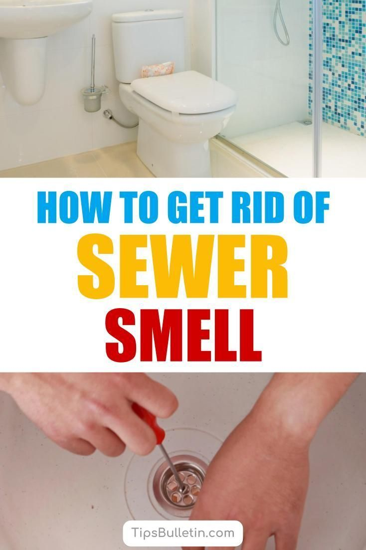 get rid of sewer smell in your house