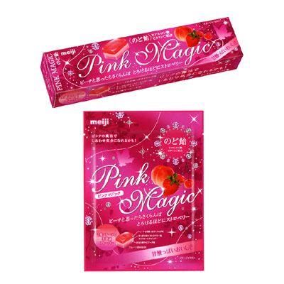 ピンクマジックのど飴 - 食@新製品 - 『新製品』から食の今と明日を見る!