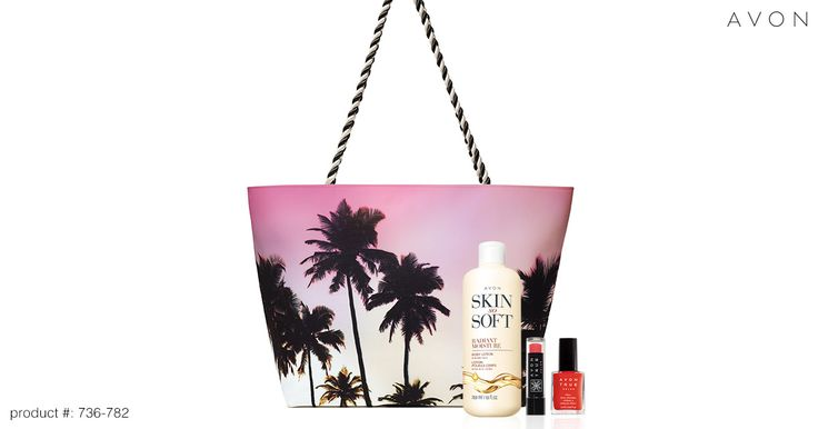 Get your limited-edition @AvonInsider Summer Beauty Set for JUST $15 w/ ANY $40 purchase (a $40 value!) today! #AvonRep    Avon Beauty Summer Set  www.Youravon.com/cbrenda007