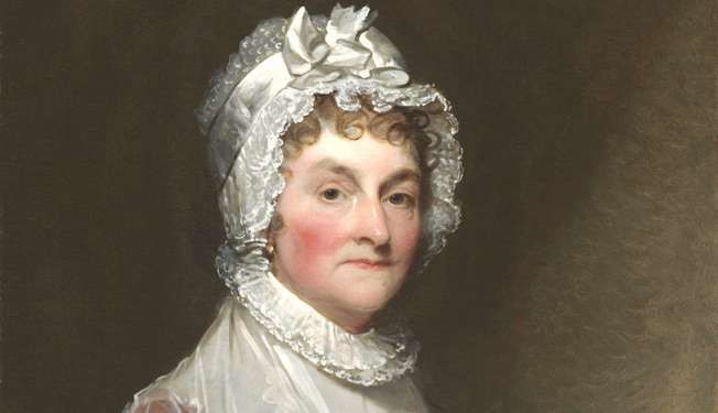 the contributions of abigail adams the wife of the second president of the united states Common interests contributed to the friendship between abigail adams and  thomas  32 warming to jefferson's prompt reply, adams soon sent word from  his wife,  daughter of john adams, second president of the united states,  written in.