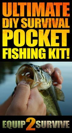 How To Make Your Own DIY Survival Pocket Fishing Kit Videos Of The