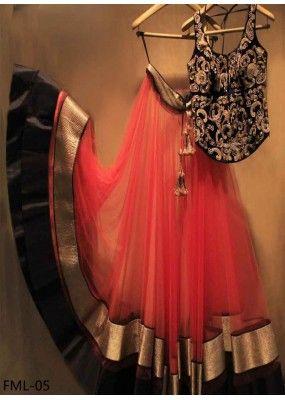Bollywood Replica - Wedding Wear Red Lehenga Choli - FML-05
