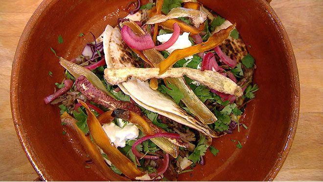 Spicy taco's met geitenvlees en tomaten-sambalchutney - 24Kitchen Food Truck Challenge | Meal you should kauw