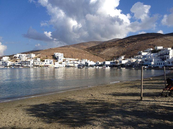 Sifnos, Paros, Milos, Santorini
