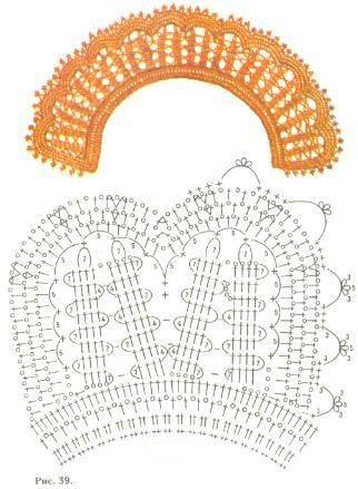 Фото Воротнички #3230621 - Вязание крючком. Модели. Схемы. Уроки. / photosklad.net
