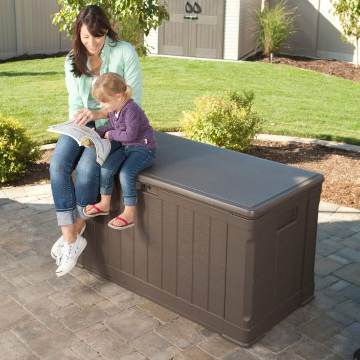 deck box ideas lifetime deck box medium sized great storage solution sturdy