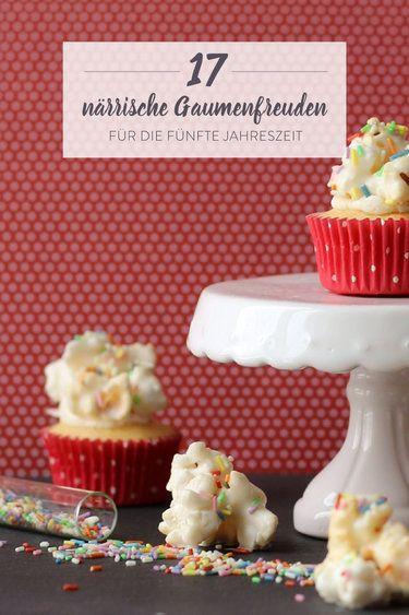 Helau und Alaaf! 17 kunterbunte Karnevals-Snacks